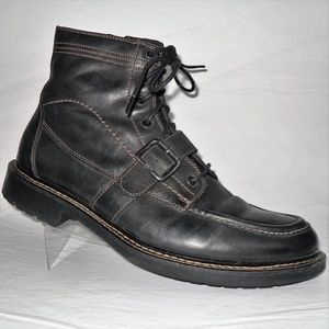 JOHNSTON MURPHY Black Ankle Boot Sz 10.5 M